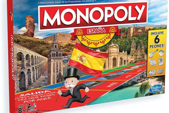 Monopoly España: el juego para viajar sin moverse de casa