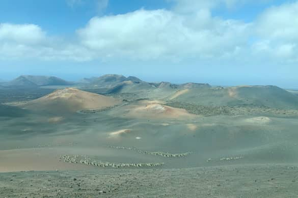 Ruta de Los Volcanes del Parque Nacional de Timanfaya