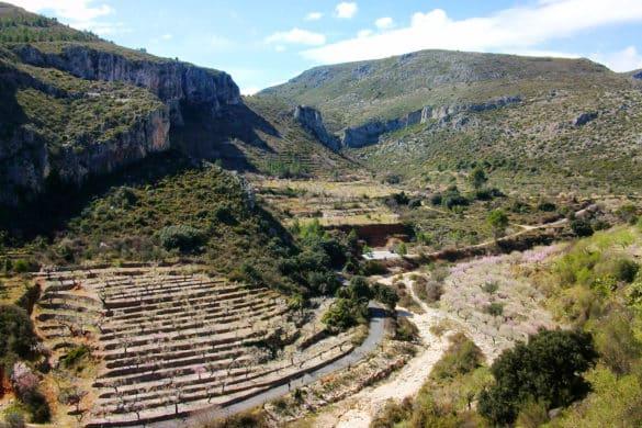 Peña del Castellet, la Marina Alta a nuestros pies