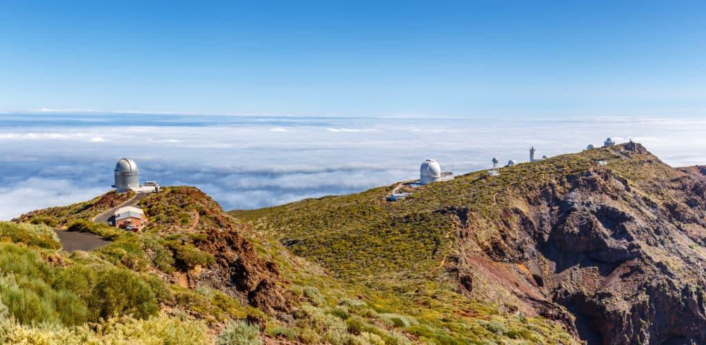 Observatorio astronómico del Roque de los Muchachos