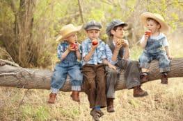Qué hacer con niños en el campo sin Internet