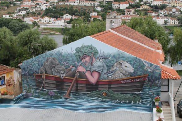 La ruta de los graffitis rurales de Portugal