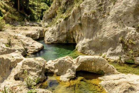 Las refrescantes piscinas naturales de Pou Clar en Ontinyent