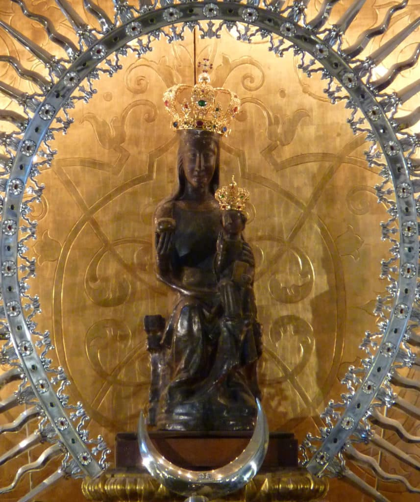 Virgen negra de Atocha (Madrid)