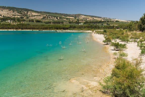 Piscinas naturales en Andalucía