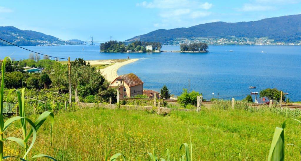 Isla de San Simón, Vigo. Islas usadas para cuarentenas en España