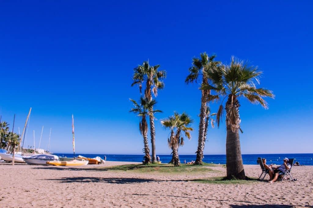 Mijas playa
