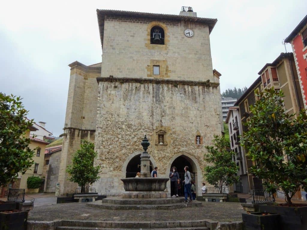 Iglesia e Santa María de Deba, Debabarrena