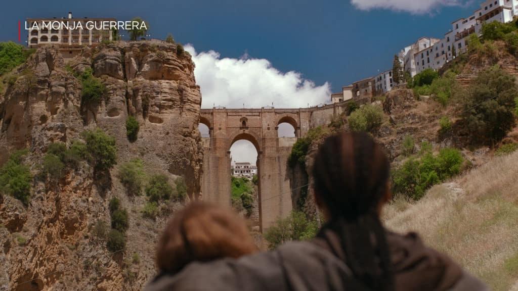 Warrior Nun en el Puente Nuevo de Ronda