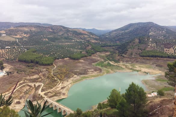 Embalse de Iznájar, el lago de Andalucía