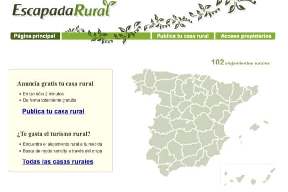 Empieza EscapadaRural.com