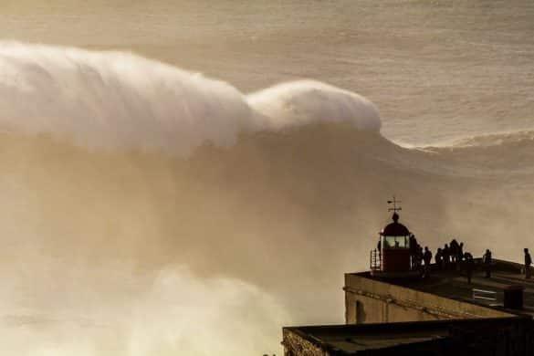 Nazaré: el pueblo de las olas gigantes