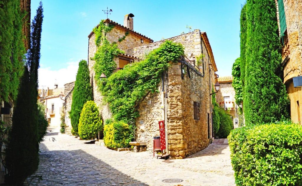 Peratallada, Girona, Catalunya, España, Europa