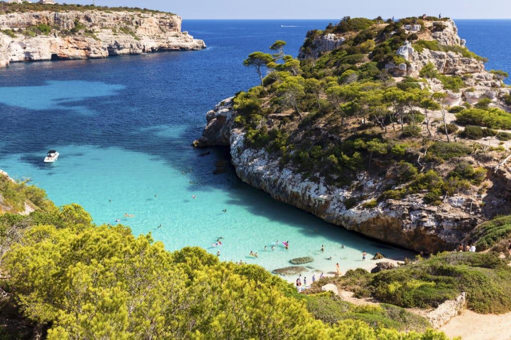 Caló des Moro, Mallorca, Playas de España