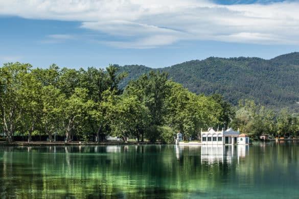 Historia y vida del lago de Banyoles en Girona