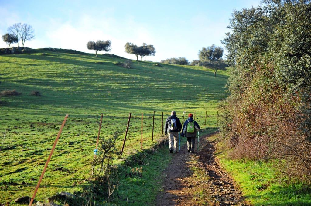 Vía de la Plata, provincia de Badajoz