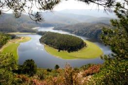 Meandro de Melero, naturaleza espectacular entre Salamanca y Cáceres