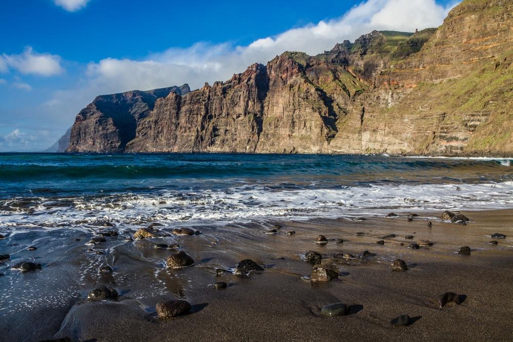 Playa de los Gigantes, Tenerife. Maravillas naturales de España