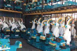 El cementerio de los 'Curros', la mascota de la Expo '92