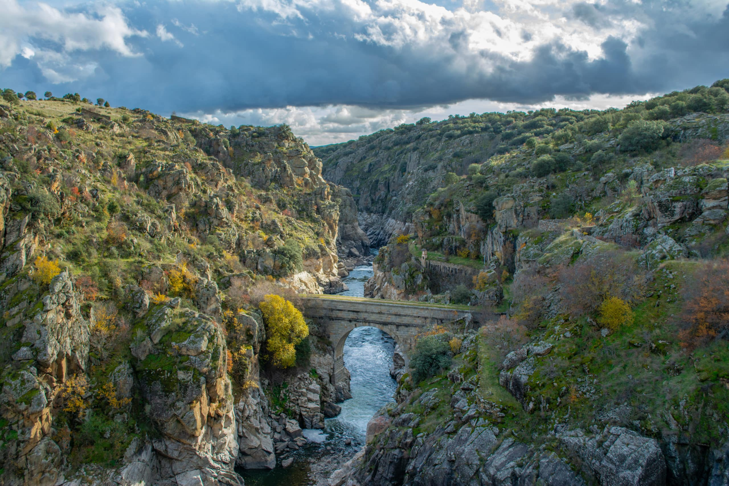 Lozoya River Canyon, Sierra Norte, Madrid, Spain