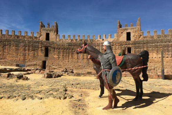 Baños de la Encina, un pueblo medieval en la sierra de Andújar