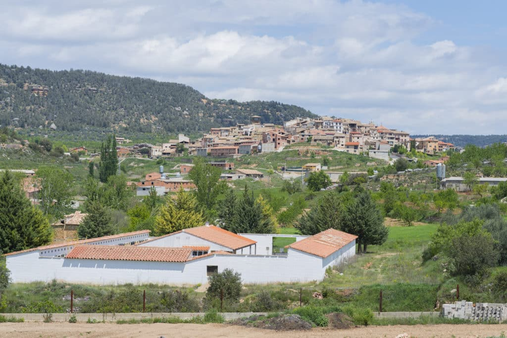 Fuentespalda (Teruel, España).