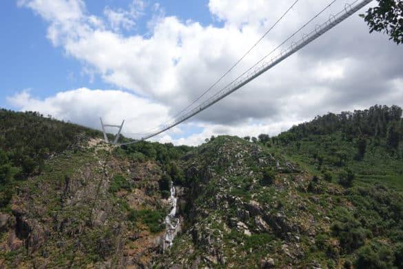 El puente colgante más largo del mundo está en Portugal