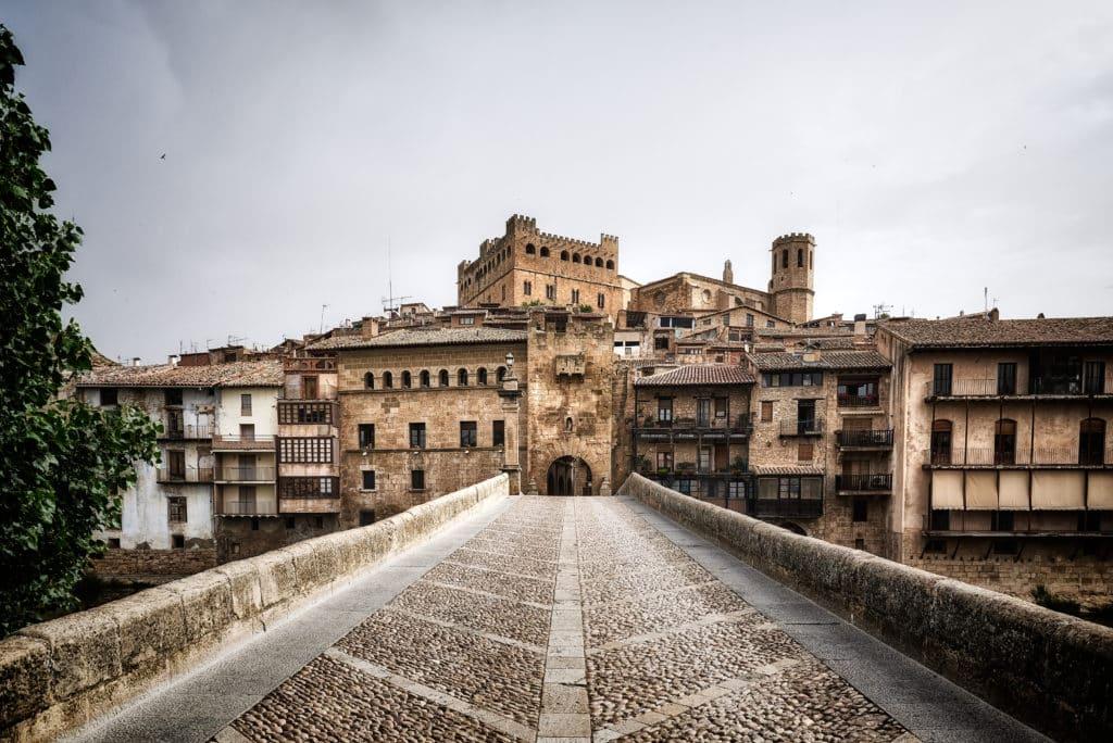 Valderrobres, Teruel, Aragon, Matarraña. Historia de la Corona de Aragón