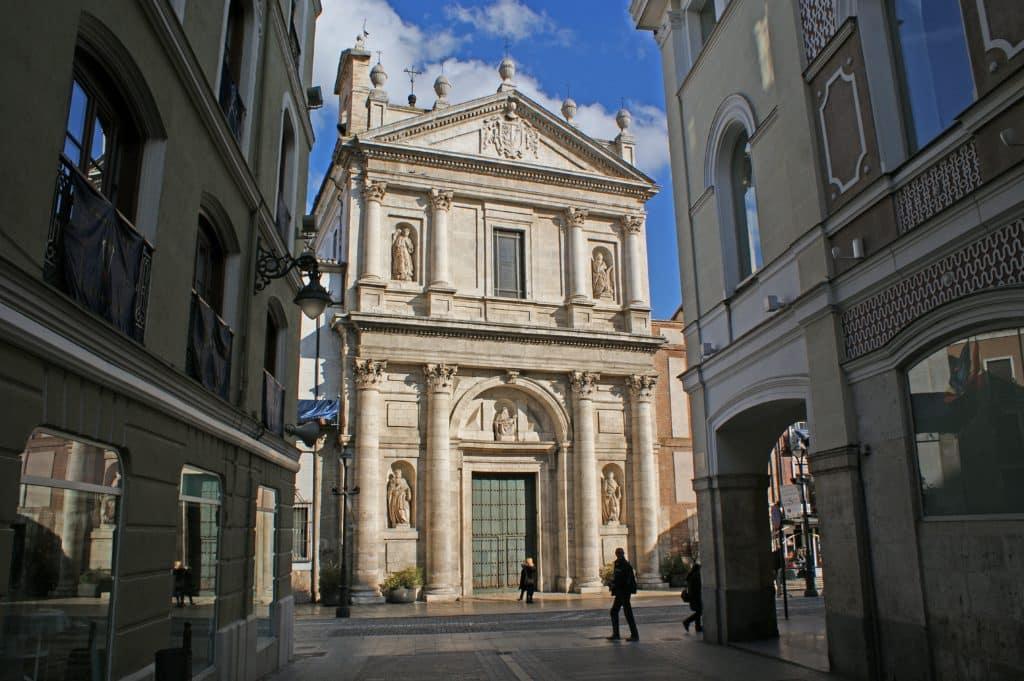 valladolid, architecture, church of las angustias