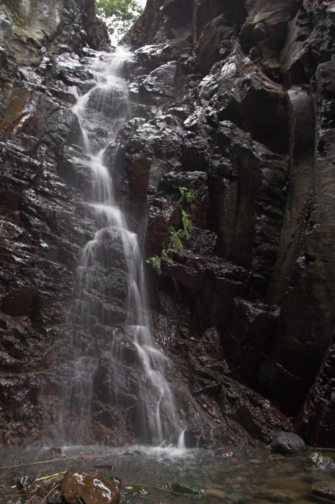 Wasserfall im Barranco de Arure auf La Gomera