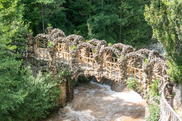 Los jardines y el chalet más desconocidos de Gaudí