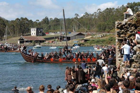 La Fiesta Vikinga de Catoira