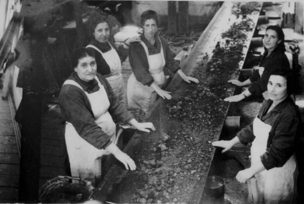 Mujeres mineras de Bilbao