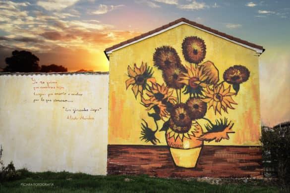 Villangómez, el pueblo con más arte urbano de Castilla y León