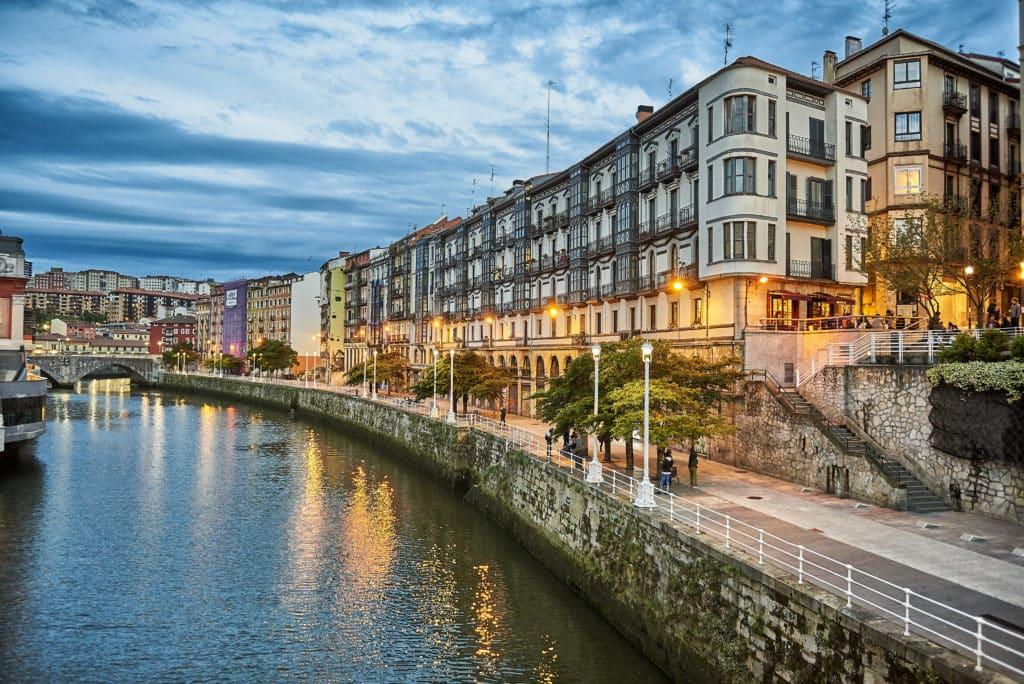 Muelle Marzana, Bilbao, Biscay, Basque Country, Euskadi, Euskal Herria, Spain, Europe