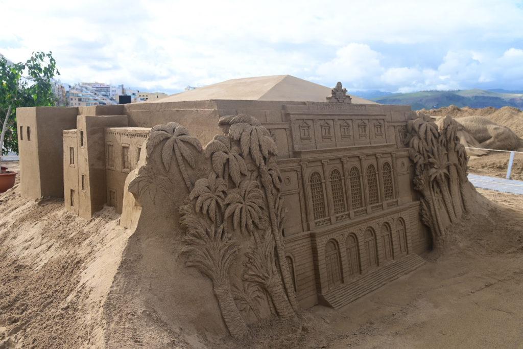 Belén de arena de Las Canteras