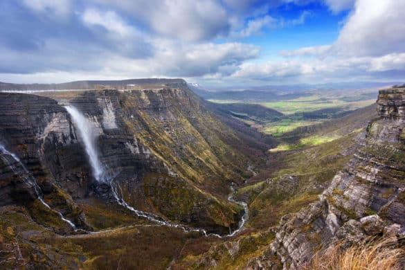 El Salto de agua más grande de España