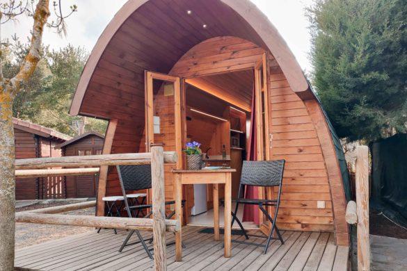 15 campings con bungalows y cabañas para alojarse a todo lujo