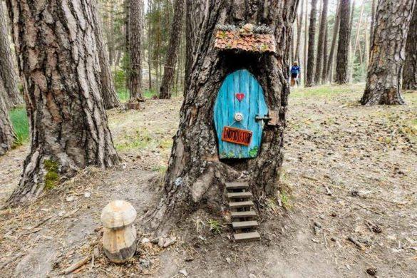 El bosque mágico de Fuente del Pino donde habitan hadas, gnomos y duendes