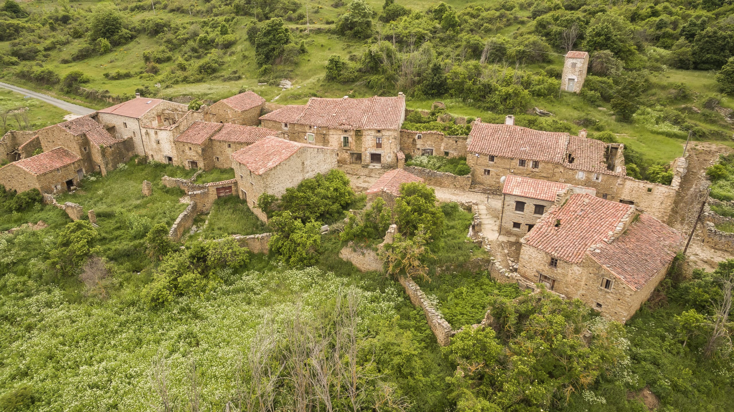 Pueblo abandonado, la España despoblada