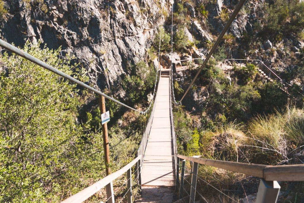 Ruta de los puentes colgantes, Chulilla