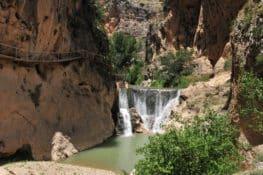 La ruta del Gollizno en Granada: miradores y puentes colgantes sobre Tajos de la Hoz