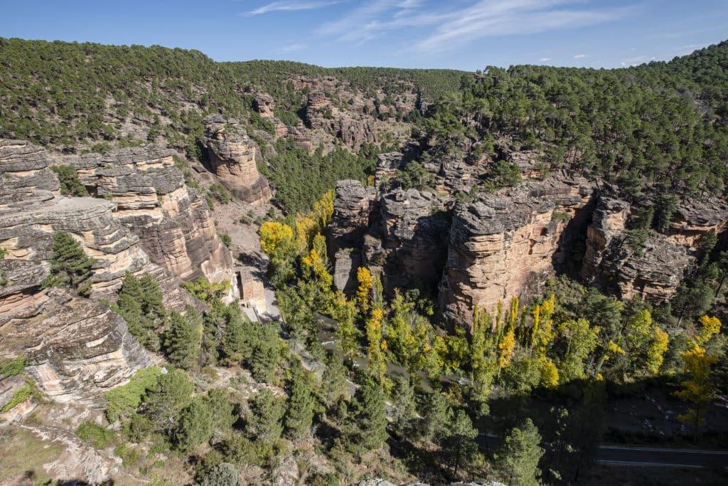 Barranco de la Hoz , Alto Tajo natural park, Guadalajara province, Spain