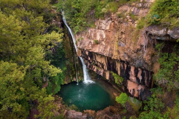 Ruta a la cascada del río Carbo