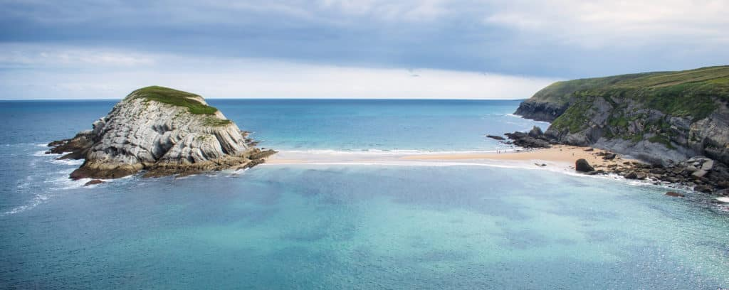 Playa de Covachos, Cantabria