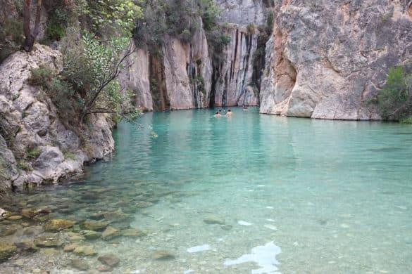 Fuente de los Baños, el paraíso termal de Montanejos (Castellón)