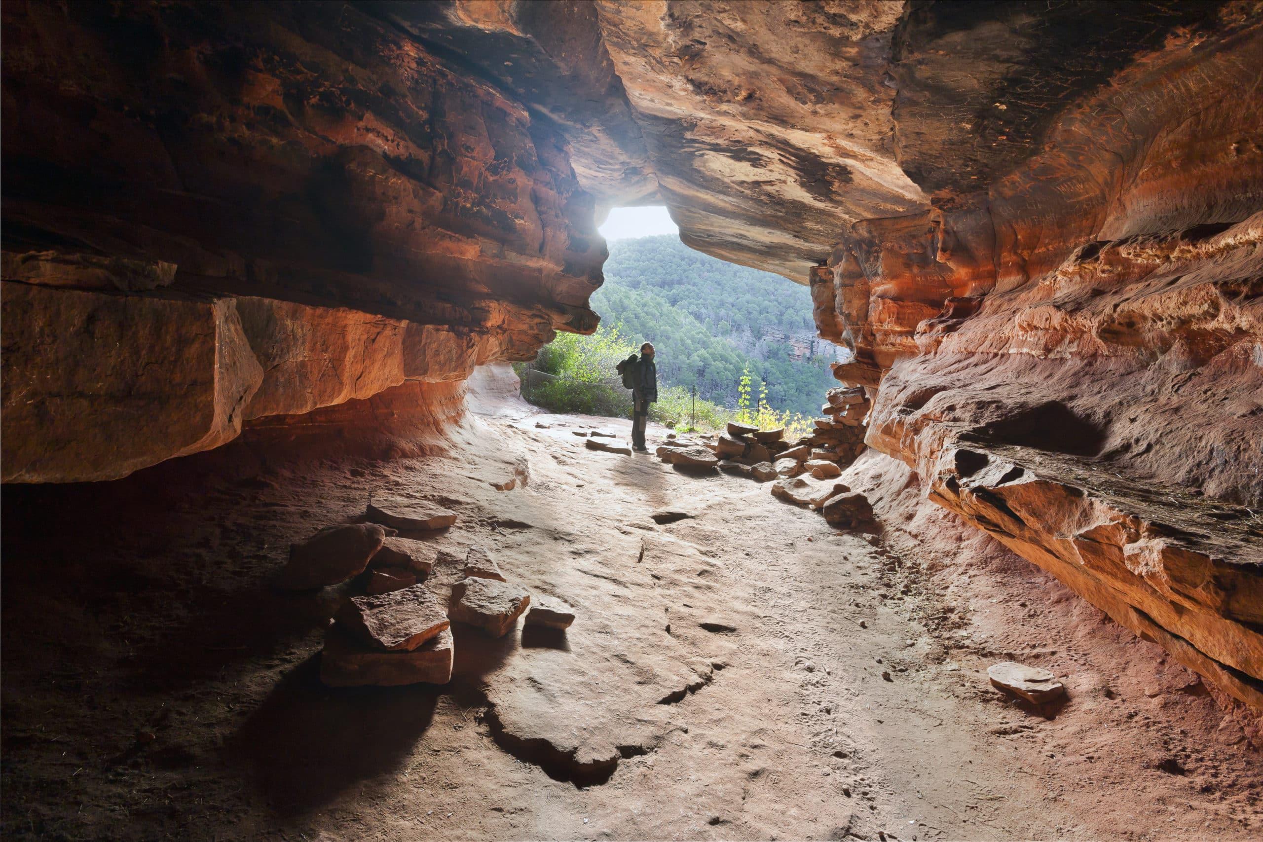 Cueva en el Cañón del rio Gallo