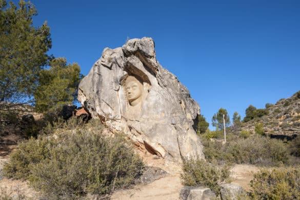 La Ruta de las Caras de Buendía (Cuenca)