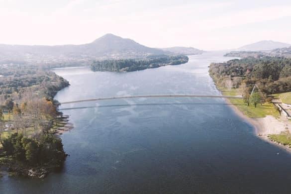 El nuevo puente peatonal sobre el Miño que unirá Galicia y Portugal