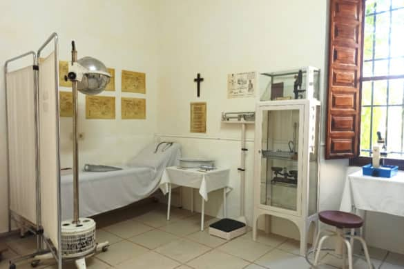 El único dispensario contra el paludismo que se conserva en España está en La Vera